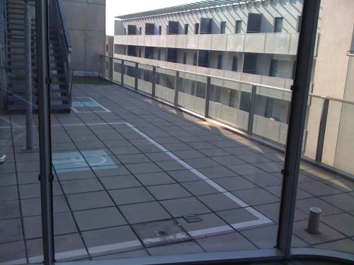 #323 - weird dissabled parking space - at the 3rd floor is still alive in vienna