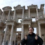 #165 - Thumbs up for Turkey! Erhan is still alive in Ephesos, now Austria again