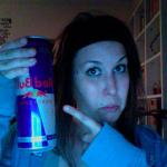#275 - marita is still alive in graz with an incredible large tin of red bull